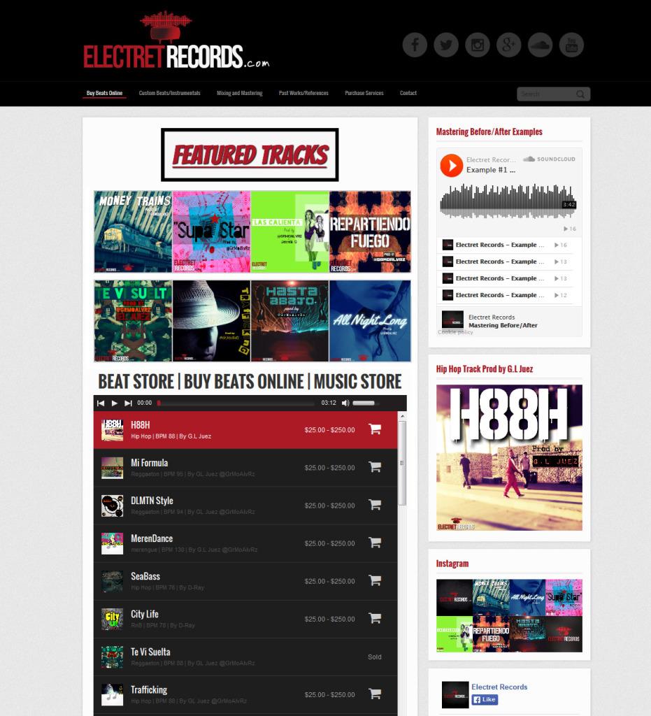 electretrecords.com