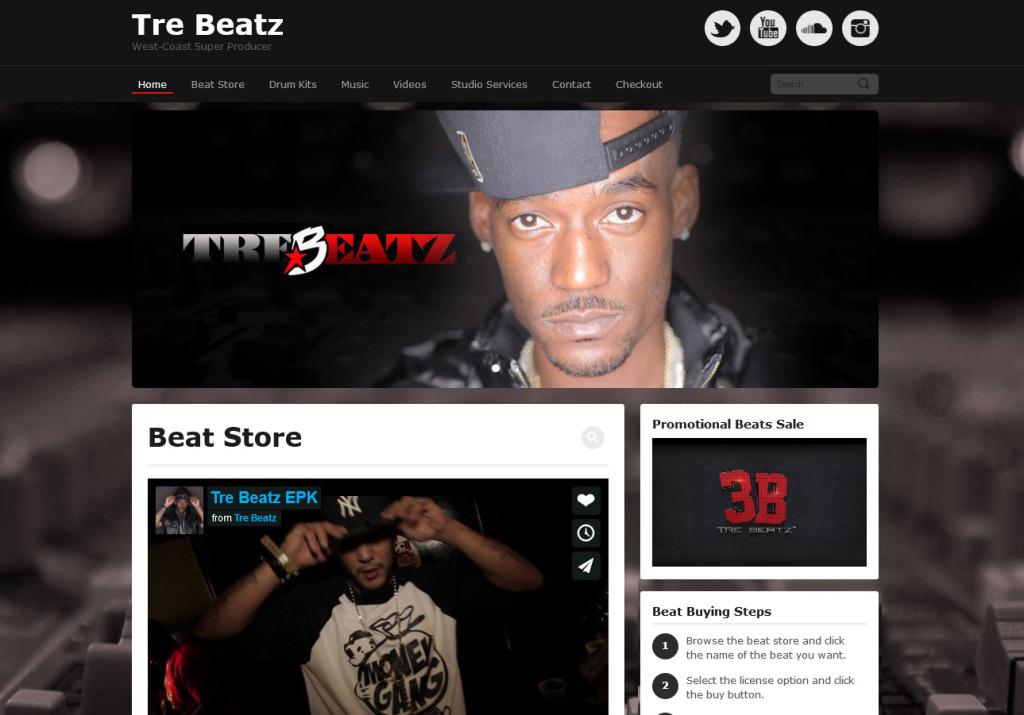 iamtrebeatz.com