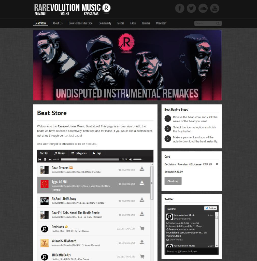 rarevolutionmusic.com