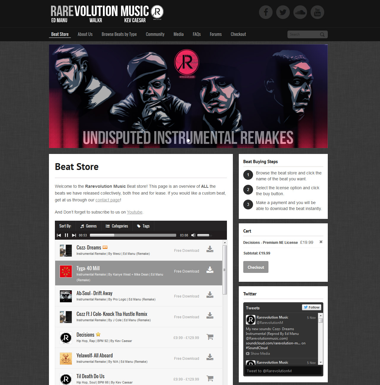 20+ Music Maker Design Examples – Music Maker WordPress Theme Help