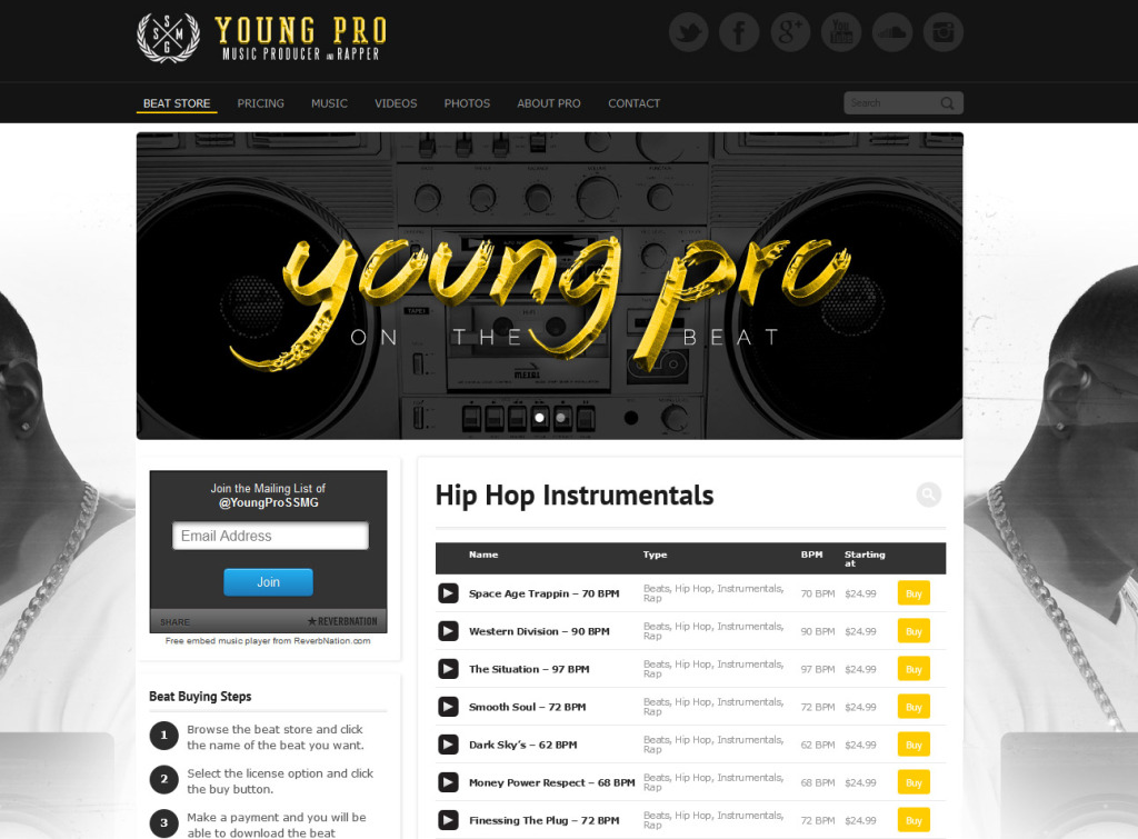 youngpromusic.com