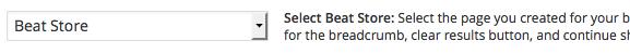 select beat store
